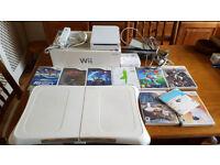 Nintendo Wii bundle including balance board