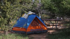 WANTED: Camping Supplies, Tent