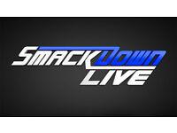 2 x WWE Smackdown TV Live Wrestling Tickets - SSE Hydro Arena , Glasgow - 08.11.16