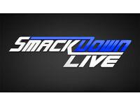 2-4 x Smackdown Live Wrestling Tickets - Tue 7th Nov - MEN Arena, Manchester