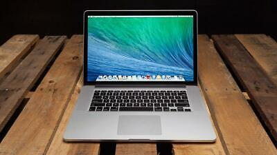 """Apple MacBook Pro 15"""" (512GB SSD, Intel Core i7, 2.7 GHz Quad, 16GB RAM) 2013"""