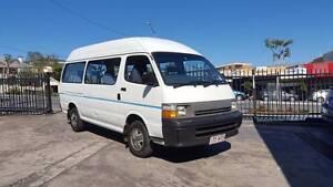 96 Toyota Hiace Commuter 2.8L diesel Van Bus 264km 11 seats $7499 Highgate Hill Brisbane South West Preview