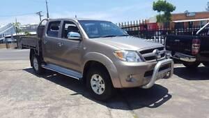 2007 Toyota Hilux SR5 4X4 dual cab 4.0L V6 Automatic RWC $10,999 Highgate Hill Brisbane South West Preview