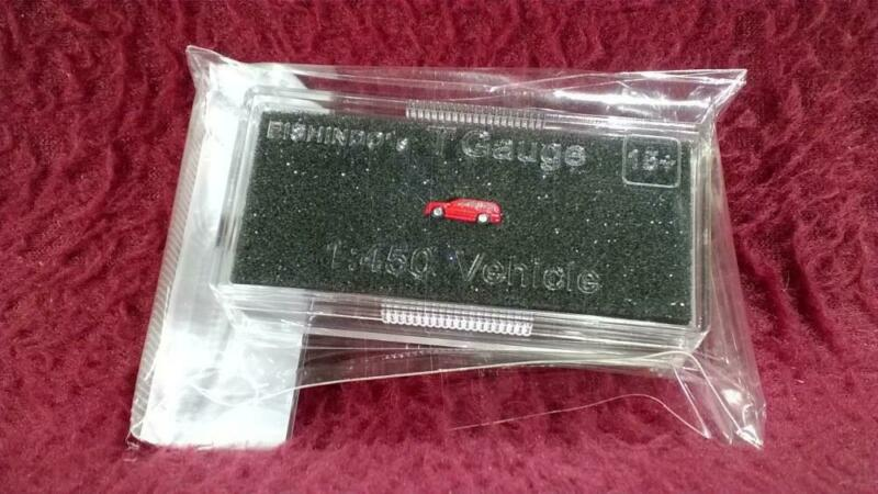 #16 EISHINDO T SCALE 1:450 VEHICLE - RED SUV/WAGON - NIP