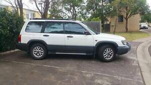 1998 Subaru Forester Wagon White Rare Body kit w/ towbar & alloys Baulkham Hills The Hills District Preview