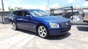2003 Nissan Stagea wagon 250T RS Four 2.5L turbo AWD 121 KM $7499 Highgate Hill Brisbane South West Preview