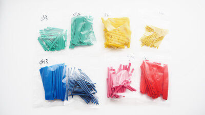 Unique 260pcs 8 Size Assortment 21 Heat Shrink Tubing Insulation Tape Wrap Wire