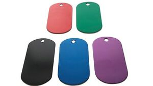 Fashion-Dog-Tag-Engravable-Blanks-Anodized-Aluminum-Black-Red-Blue-Purple-Green