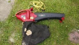 Power Devil Garden Leaf Blower and Vacuum