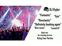 DJ RYDER - FULLY INSURED MANCHESTER DJ