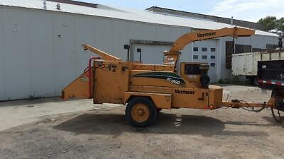 Vermeer Bc1800 Xl Wood Chipper With Winch 2944 Hours