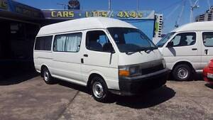 1994 Toyota Hiace Commuter camper van- ready for travel RWC $5999 Highgate Hill Brisbane South West Preview