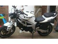 Streetfighter sv650 12 months mot swaps or offers