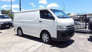 2008 Toyota Hiace D4D 3.0L turbo diesel 200KM 1YR WARRANTY $17999 Highgate Hill Brisbane South West Preview