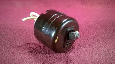 Vintage Levitan Brown Bakelite Electic Switch Assembly Onoff 2-way Toggle