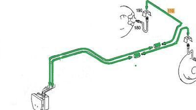Bremsleitungssatz Satz Bremsleitungen hinten für Mercedes C Klasse W204