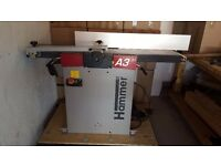 Hammer A3 31 Planer Thicknesser - immaculate condition