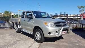 07 Toyota Hilux 4X4 xtra cab KUN26R 174K logbook LONG TRAY $18999 Highgate Hill Brisbane South West Preview
