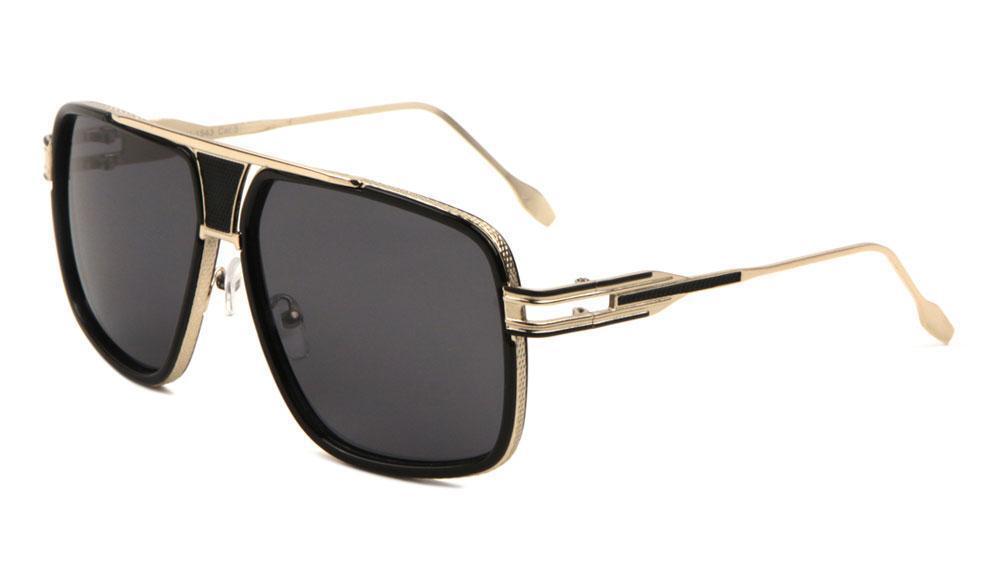Steampunk Sunglasses Men Women Vintage Sunglass Big Face Oversized Sun Glasses