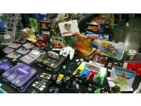 ££WANTED££ old game consoles, games and accessories cash waiting