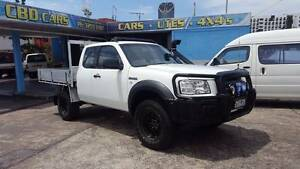 2008 Ford PJ Ranger Super cab 4X4 Ute alloy tray Logbook $13,999 Highgate Hill Brisbane South West Preview