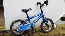 Ridgeback MX14 aluminium boys bike - Perfect Xmas Present.