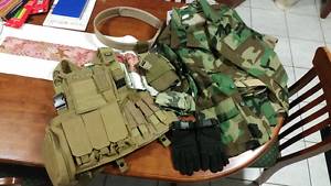 Military Gear (BDU) Cosplay w/Vest and Holster Beeliar Cockburn Area Preview