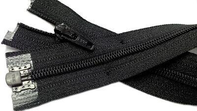 3mm Nylon Coil #3  YKK Separating Zippers Made in USA 3 Nylon Zipper
