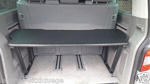 VW T5&T6 Multivan Multiflexboard Bettverlängerung Ablage Zwischenboden Höhe:51cm