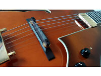 Ibanez AF151F-VLS Violin Sunburst, hollow-body archtop jazz guitar