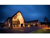Receptionist - Hilton Hotel Syon Shisha Lounge TW8 - Evening