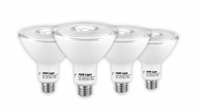 New PAR38 LED Light Bulb 90 Watt Equivalent SlimStyle 3000K 4 Pack P04 Home & Garden
