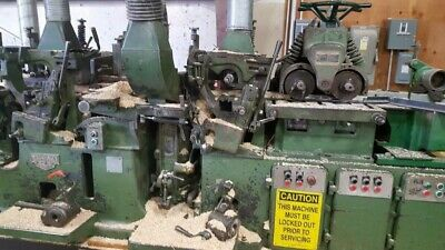 Mattison 229 Push Feed Moulder Used In Good Condition.
