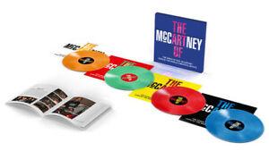 THE ART OF McCARTNEY 4LP 180g Coloured Vinyl Box Set PAUL BEATLES New & Sealed