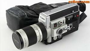 CANON 1014 ELECTRONIC Super 8 Video Camera Karrinyup Stirling Area Preview