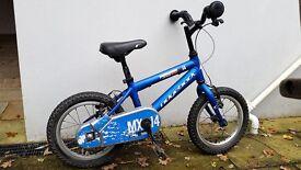 Ridgeback MX14 aluminium boys bike