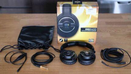 SALE -- KRK KNS 8400 Studio Monitoring Headphone - EXCELLENT MINT