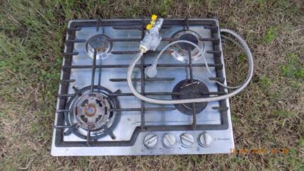 cook top Westinghouse natural gas parts only at Corinda