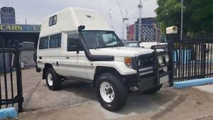 Toyota Landcruiser Troopcarrier/ Troopy HIGH ROOF CAMPER $17,999 Highgate Hill Brisbane South West Preview