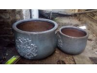 Beautiful Garden pots, priced to sell