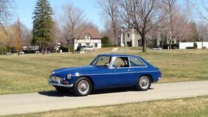 1966 MG MGB GT Coupe