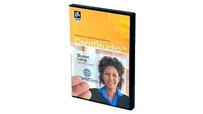 Zebra Cardstudio Classic Id P1031773 001 Software For Zebra Pvc Card Printe New