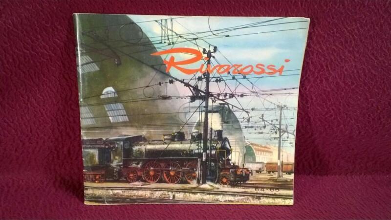 VINTAGE 1964-65 RIVAROSSI COLOR CATALOG - 77 PAGE