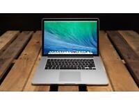 15' Retina Display Quad Core i7 Apple MacBook Pro 2.2Ghz 16GB Ram 256GB SSD Logic Pro X Sibelius