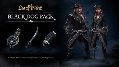 Sea of Thieves Black Dog Pack DLC for Xbox One XB1/PC