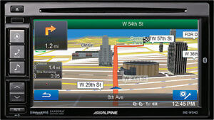 "Alpine INE-W944 6.1"" Bluetooth USB MP3 DVD/GPS Receiver"