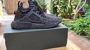Adidas NMD XR1 Primeknit Shoes Size US9.5 TRIPLE BLACK NEW Nedlands Nedlands Area Preview