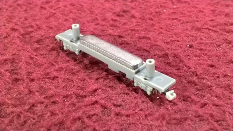 EISHINDO T SCALE 1:450 - PS-017 CHASSIS W/ P-029 BOGIES & COUPLERS