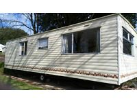 Cheap static for sale £17,995 includes site fees and free insurance, pet friendly, Devon