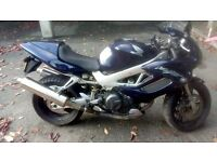 2001 Honda VTR1000 Firestorm, with braided brake pipes, aero screen, gps mount and chain oiler